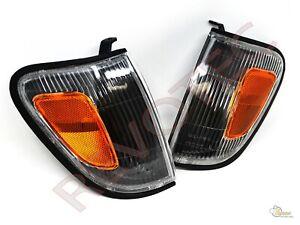 Black Corner Signal Lights For Toyota 98-00 Tacoma 4WD & PreRunner