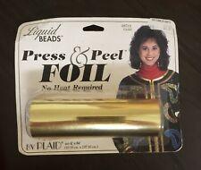 Liquid Beads Press & Peel Foil Gold 25701 1993