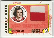 2009-10 ITG 1972 The Year In Hockey Game Used Jersey Gold #M37 Steve Shutt 1/1