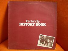 VINYL 33T – PENTANGLE : HISTORY BOOK – JOHN RENBOURN BERT JANSCH UK FOLK ROCK