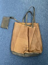 Timothy Oulton Leather Shoulderbag XL With Small Wallet And With Dustbag