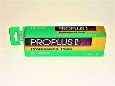5 x Rolls  FUJI PROPLUS 11 200  COLOUR NEG--35mm/36 exps--FRESH--expiry: 07/2018