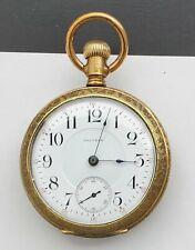 Gold Plated Runs #05-3 Antique 18S Waltham Pocket Watch