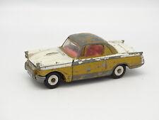 Corgi Toys SB 1/43 - Triumph Herald Coupe Blanco y el oro