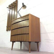 Vintage Retro MidCentury Teak Danish Style Tallboy Chest of Drawers Storage