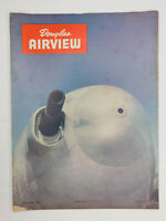 Jan 1945 Douglas Aircraft Airview Employee Magazine WWII Air Force Aviation
