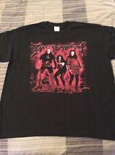 IMMORTAL Damned In Black Shirt XL, Infernal War, Azarath, Taake, Urgehal, Ulver