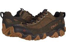 Oboz Men's Firebrand II Low Leather Hiking Boots - Stone M/W Widths NWB