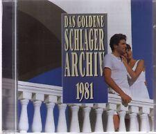 DAS GOLDENE SCHLAGERARCHIV 1981   CD-Album, 16 Titel