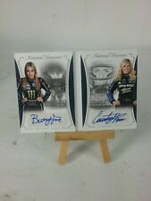 2016 National Treasure racing Brittany Force/Courtney Force dual auto 06/25