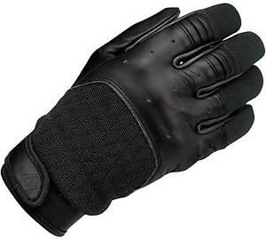 Biltwell Bantam Gloves - Motorcycle Street Riding Leather Textile Vintage Men's