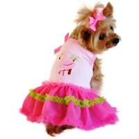 Doggie Design Flamingo and Palm Tank Designer Dog Dress