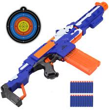 Fun New Electric Soft Bullet Nerf Strike Gun Blaster For Shooting Submachine Toy