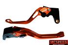 HONDA CBR300R/CB300F 2014-2017 Adjustable Brake & Clutch CNC Levers Orange
