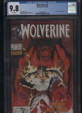 Wolverine #13 CGC 9.8 Peter David JOHN BUSCEMA Kevin Nowlan 1989
