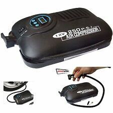Car Van Bike 250 PSI Automatci Cut-Off Digital Tyre Air Compressor Inflator Pump