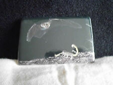 Magnet Fledermaus Kühlschrank Deko Keramik 7,5 x 5 cm Natur Magnettafel