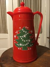 Waechtersbach Thermal Vacuum Carafe Plastic Thermos Coffee Beverage Christmas
