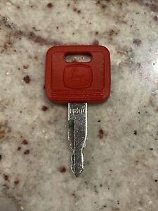 JOHN DEERE Excavator Heavy Equipment Equipment Ignition Key Original With Logo