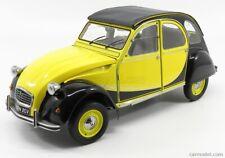 Premium-x pr8-004a scala 1/8 citroen 2cv charleston cabriolet 1982 yellow black