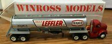 Winross White Carlos R Leffer-Texaco Tractor/Tanker Trailer 1/64