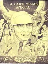 CLIFFORD SIMAK SPECIAL - 1981 sci-fi fanzine - Isaac Asimov, George R.R. Martin