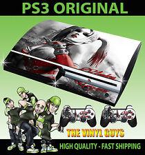 PLAYSTATION PS3 ORIGINAL STICKER HARLEY QUINN ARKHAM BATMAN SKIN & 2 PAD SKINS