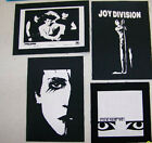 The Cure Joy Division Rozz Williams Siouxie  the Banshees Goth Jacket PATCH set