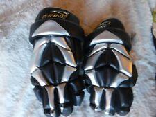 Brine Lacrosse Stealth Size 12 Inch Black Gloves Pre Owned