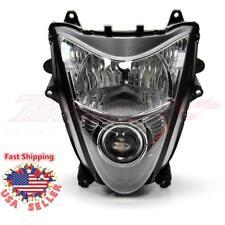 Front Headlight Head Light Assembly For Suzuki Hayabusa GSX1300R 2008-2017 Black