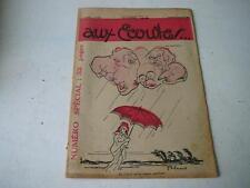 Aux Ecoutes 1 mars 1930 journal N° 615