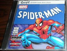 PC CD. Snap Spider-Man. Comics on CD