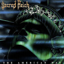 The American Way by Sacred Reich (CD, 1990, Roadracer)