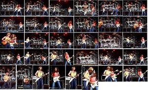 32 Triumph colour concert photos Port Vale 1981