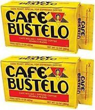 Cafe Bustelo Cuban Coffee Espresso, 10-Ounce Bricks (Pack of 2)