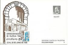 Sobre Entero Postal Edifil # 16 Palencia Filatem 90