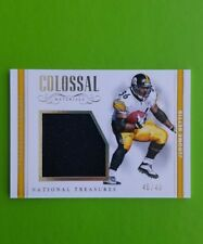 2017 NATIONAL TREASURES JEROME BETTIS COLOSSAL MATERIALS PATCH CARD #45/49