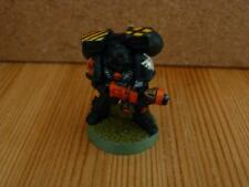Games Workshop Dark Angels Jump Pack Tactical Squad Trooper No1 With Flamer Gun