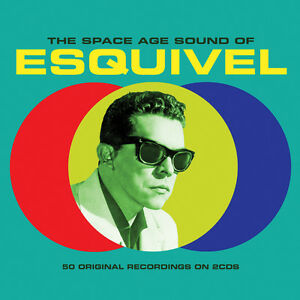 Esquivel - The Space Age Sound Of - Best Of / Greatest Hits 2CD NEW/SEALED