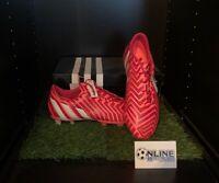 Adidas Predator Instinct FG - Bold Red/White/Flash Red UK 9.5, US 10, EU 44