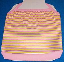 New Size 1 Xs Pink Yellow Striped T-BackTank Shirt Dog Clothes