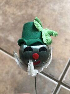 Vintage Irish Leprechauns St. Patricks Day Handmade Crafts Figure Heads Group