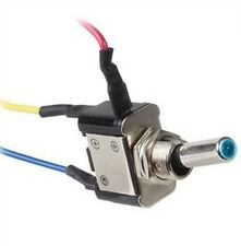 Toggle Switch Blue LED SPST 12VDC 20A