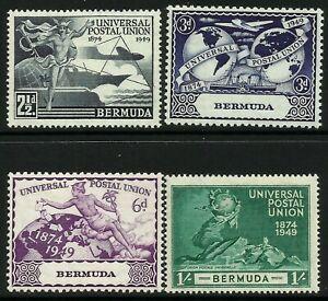 Bermuda 1949 UPU set Mint Lightly Hinged Fresh Gum