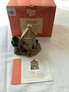 Lilliput Lane Buckle My Shoe L2186 complete with Deeds And Box