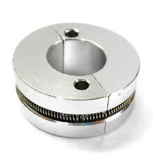 Nitro Engine 2 Shoe Aluminium Clutch with Spring Silver
