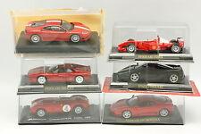 Divers 1/43 - Lot de 6 Ferrari 360 - 375 - Enzo - 288 GTO - F1