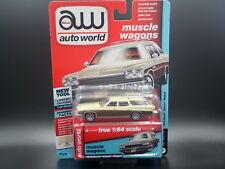 AUTO WORLD 1975 BUICK ESTATE WAGON MUSCLE WAGONS VER A R4