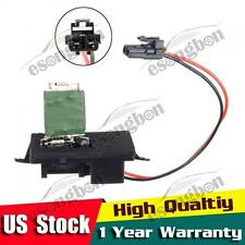 Front Heater Blower Motor Resistor for 1999-2007 Chevy Silverado 2500 89019089