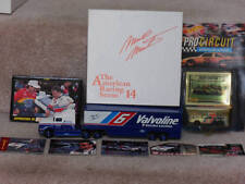 Winross Mark Martin 6~Valvoline Transporter + Hot Wheel + Trading & Post Cards